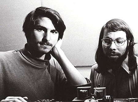 Steve Jobs dan Steve Wozniak