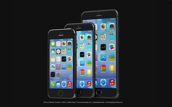 iPhone 5s dan iPhone 6 via Martin Hajek