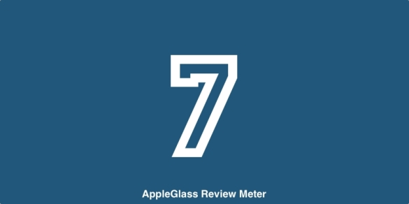 AppleGlass Review Meter