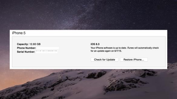 Kamu Bisa Melakukan Update Lewat iTunes